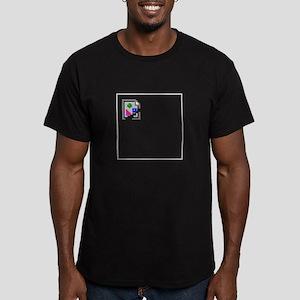 Broken Image Men's Fitted T-Shirt (dark)