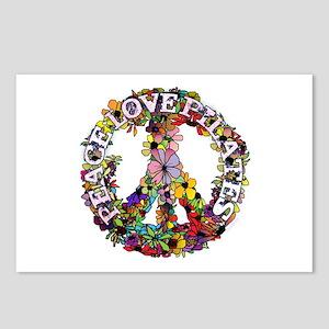 Peace Love Pilates by Svelte.biz Postcards (Packag