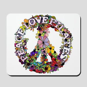 Peace Love Pilates by Svelte.biz Mousepad