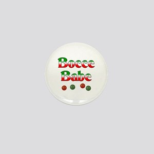 Bocce Babe Mini Button
