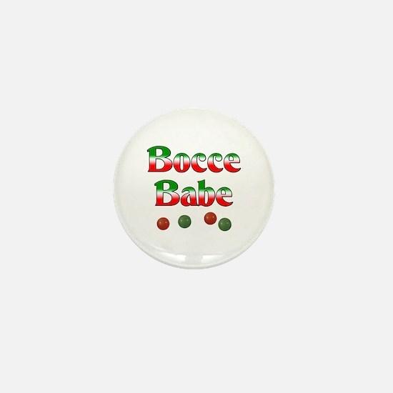 Bocce Babe Mini Button