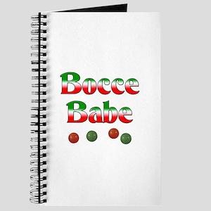 Bocce Babe Journal