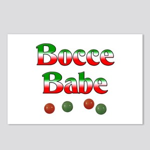 Bocce Babe Postcards (Package of 8)