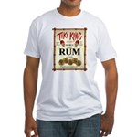 Tiki King Rum Fitted T-Shirt