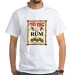 Tiki King Rum White T-Shirt