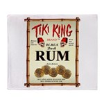 Tiki King Rum Throw Blanket