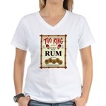 Tiki King Rum Women's V-Neck T-Shirt