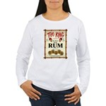 Tiki King Rum Women's Long Sleeve T-Shirt