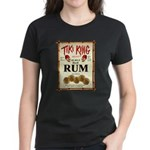 Tiki King Rum Women's Dark T-Shirt