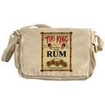 Tiki King Rum Messenger Bag