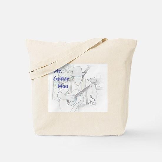Mr. Guitar Man Tote Bag