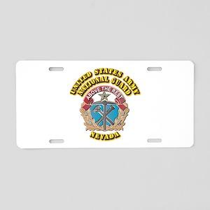 Army National Guard - Nevada Aluminum License Plat