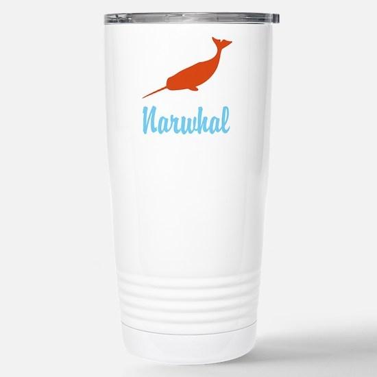 Narwhal Stainless Steel Travel Mug