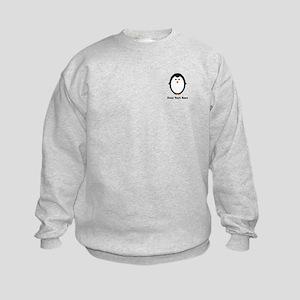 Personalized Penguin Kids Sweatshirt