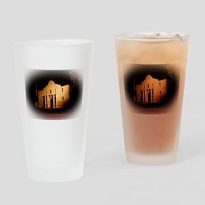 The Alamo Drinking Glass