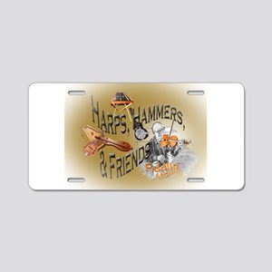 Harps, Hammers and Friends Aluminum License Plate