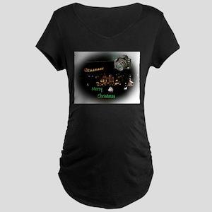 Snapshot Moment Maternity Dark T-Shirt