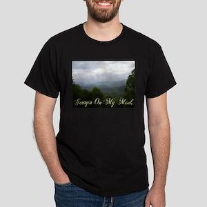 Georgia On My Mind Black T-Shirt