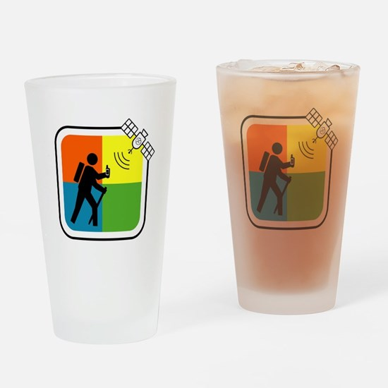 Cute Gps Drinking Glass