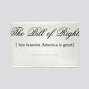 Bill of Rights - Vote Them Ou Rectangle Magnet