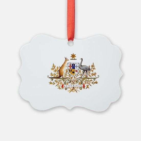 Cute Australian flag Ornament