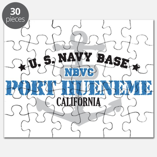 US Navy Port Hueneme Lake Bas Puzzle