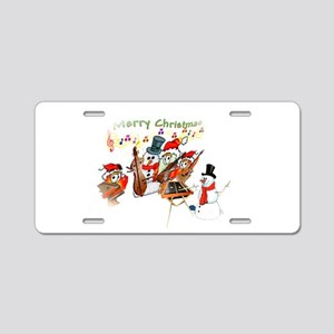 Hammers and Friends Aluminum License Plate