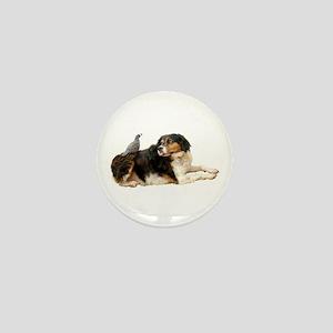 Quail Dog Mini Button