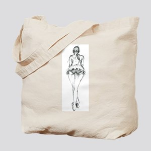 Hot anime girl comic style babe posing Tote Bag