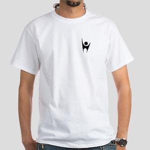 Happy Human White T-Shirt