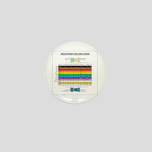 Resistor Color Mini Button