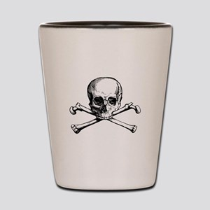 Skull and Crossbones Shot Glass