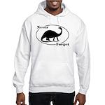 Never Forget Dinosaurs Hooded Sweatshirt