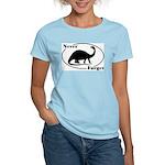 Never Forget Dinosaurs Women's Light T-Shirt