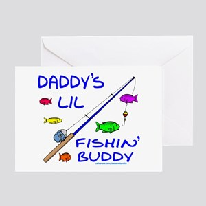 DADDY'S FISHIN' BUDDY Greeting Card