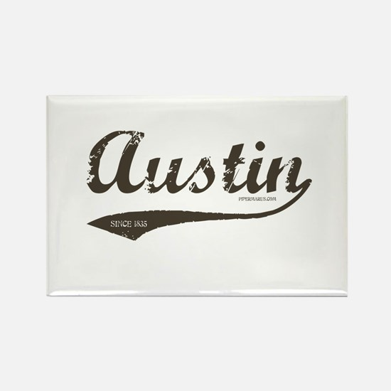 Austin Since 1835 Rectangle Magnet