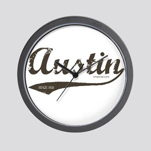 Austin Since 1835 Wall Clock