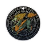 Kirin Luo Ornament (Round)