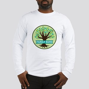Genealogy Family Tree Personalized Long Sleeve T-S