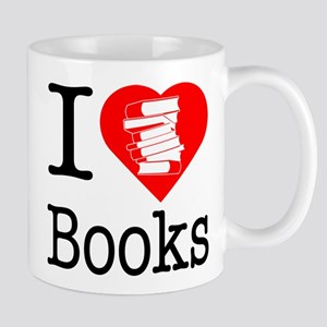 I Heart Books or I Love Books Mug