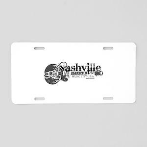 Nashville Aluminum License Plate