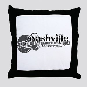 Nashville Throw Pillow