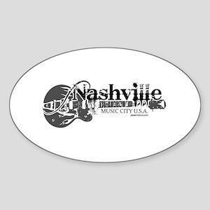 Nashville Sticker (Oval)