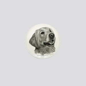 Golden Retriever Mini Button