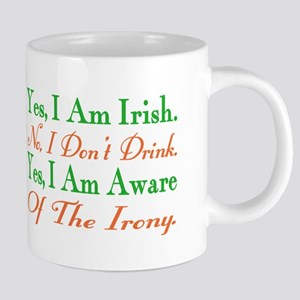 Ironic Sober Irish Mugs