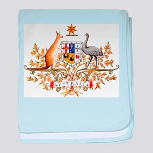 Australia Coat of Arms, coat of arms, baby blanket