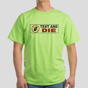 DANGEROUS Green T-Shirt