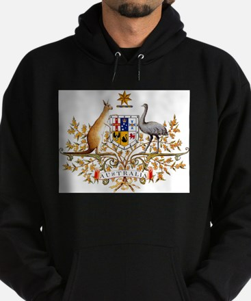 Australia Coat of Arms, coat of arms,fl Sweatshirt