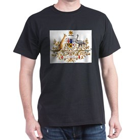Australia Coat of Arms, coat of arms,flag, T-Shirt