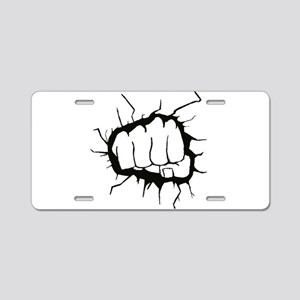 admin Aluminum License Plate